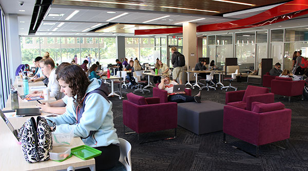 Love Library Learning Commons