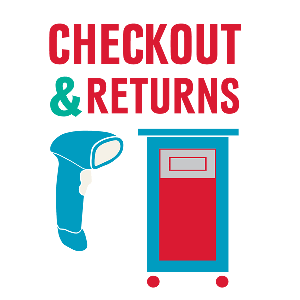 Graphic for checkout and returns