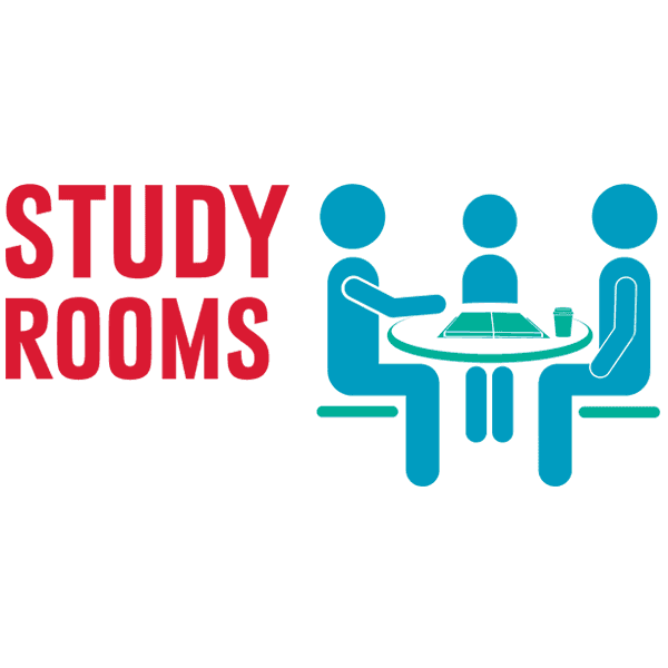 Graphic to reserve study rooms