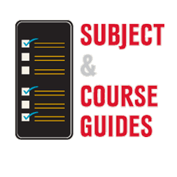 Graphic for Subject and Course Guides