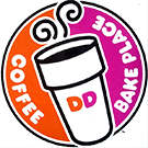 Logo graphic of Dunkin' Donuts