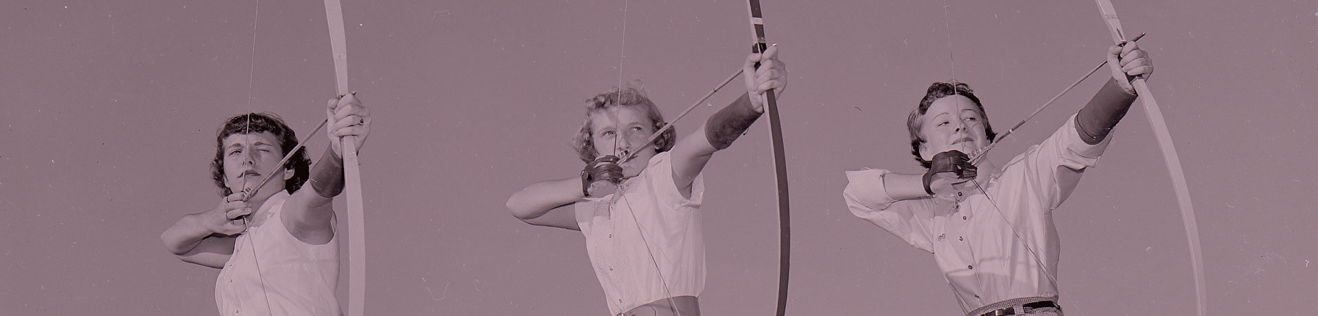 Photo of women shooting arrows