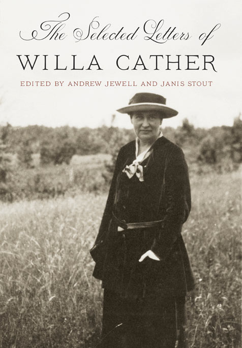 Selected Letters of Willa Cather book jacket