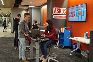 Photo of the learning commons ASKus location