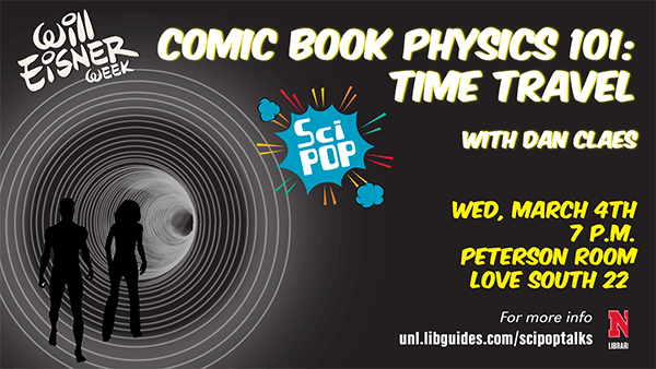 SciPOP: Comic Book Physics 101: Time Travel